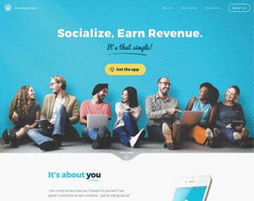 เว็บไซต์ Start-Up